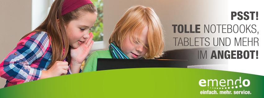 Bei uns finden Sie Ihr passendes Notebook oder Tablet